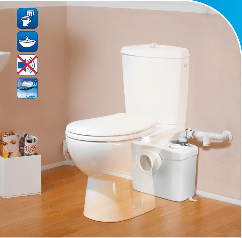Toilet sewage lifting pump